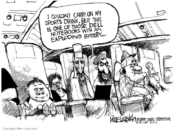 Mike Luckovich  Mike Luckovich's Editorial Cartoons 2006-08-17 power