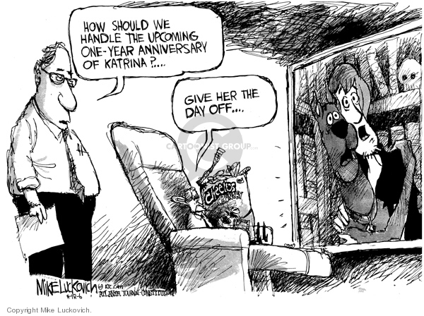 Mike Luckovich  Mike Luckovich's Editorial Cartoons 2006-08-18 government