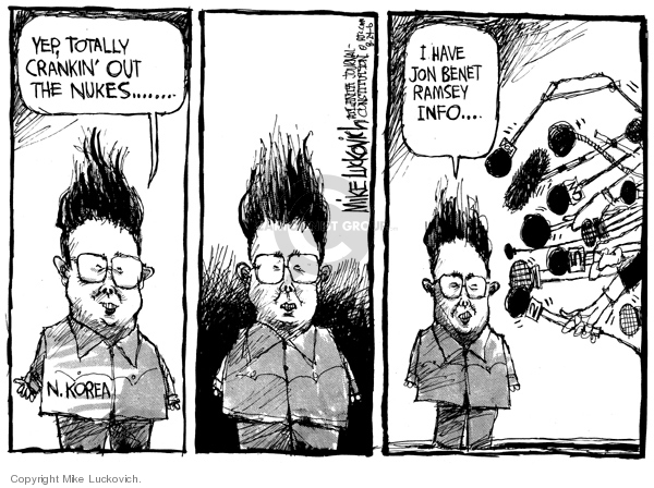 Mike Luckovich  Mike Luckovich's Editorial Cartoons 2006-08-24 journalism