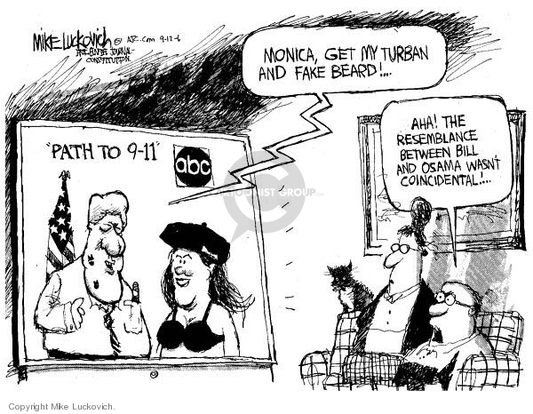 Cartoonist Mike Luckovich  Mike Luckovich's Editorial Cartoons 2006-09-12 fake