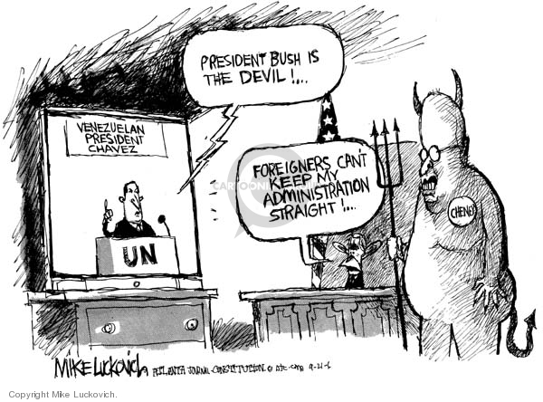 Mike Luckovich  Mike Luckovich's Editorial Cartoons 2006-09-21 title