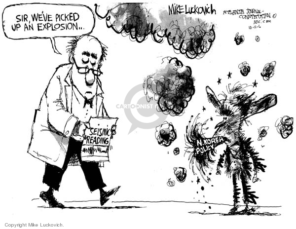 Cartoonist Mike Luckovich  Mike Luckovich's Editorial Cartoons 2006-10-11 sound