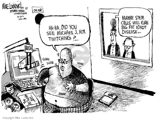Cartoonist Mike Luckovich  Mike Luckovich's Editorial Cartoons 2006-10-26 nutrition
