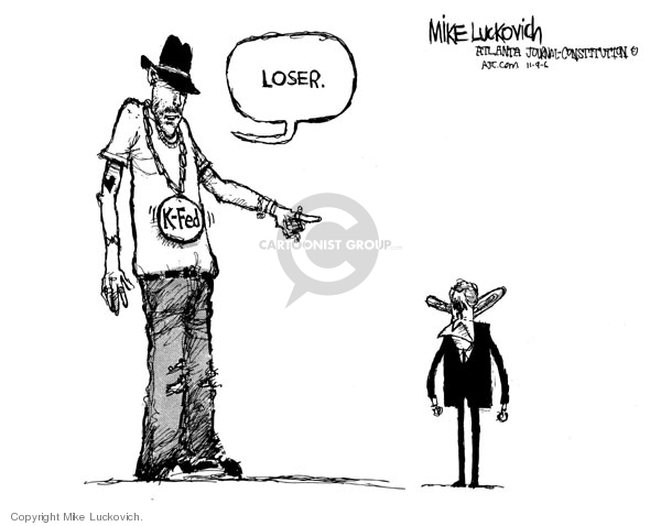 Mike Luckovich  Mike Luckovich's Editorial Cartoons 2006-11-09 2006