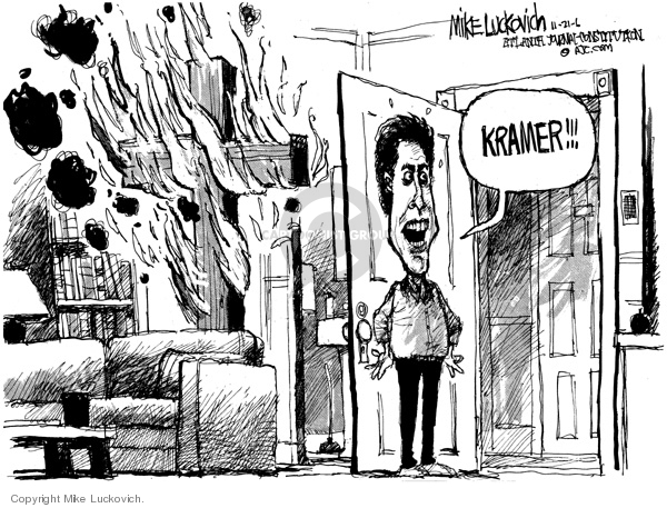 Mike Luckovich  Mike Luckovich's Editorial Cartoons 2006-11-21 apartment