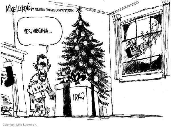 Mike Luckovich  Mike Luckovich's Editorial Cartoons 2006-12-14 Virginia