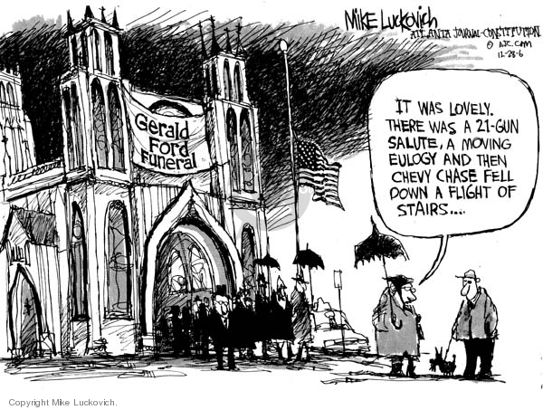 Mike Luckovich  Mike Luckovich's Editorial Cartoons 2006-12-28 Saturday Night Live