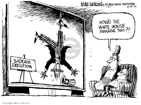 Mike Luckovich  Mike Luckovich's Editorial Cartoons 2007-01-03 death