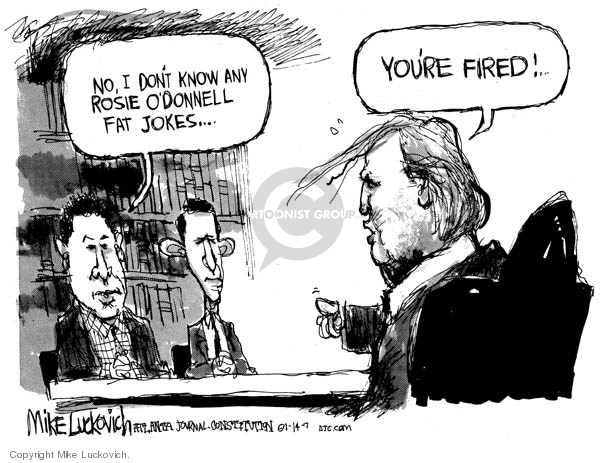 Mike Luckovich  Mike Luckovich's Editorial Cartoons 2007-01-12 obesity