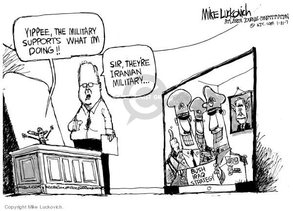 Mike Luckovich  Mike Luckovich's Editorial Cartoons 2007-01-19 sir