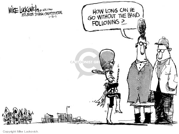 Cartoonist Mike Luckovich  Mike Luckovich's Editorial Cartoons 2007-01-31 direction