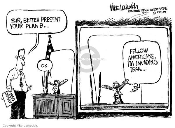 Mike Luckovich  Mike Luckovich's Editorial Cartoons 2007-02-06 sir