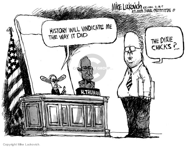 Mike Luckovich  Mike Luckovich's Editorial Cartoons 2007-02-14 music