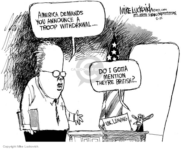 Mike Luckovich  Mike Luckovich's Editorial Cartoons 2007-02-22 soldier