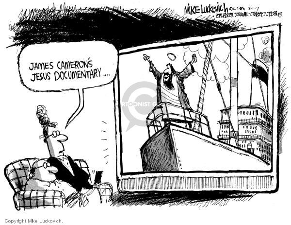 Cartoonist Mike Luckovich  Mike Luckovich's Editorial Cartoons 2007-03-01 television program