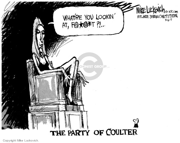 Mike Luckovich  Mike Luckovich's Editorial Cartoons 2007-03-06 columnist