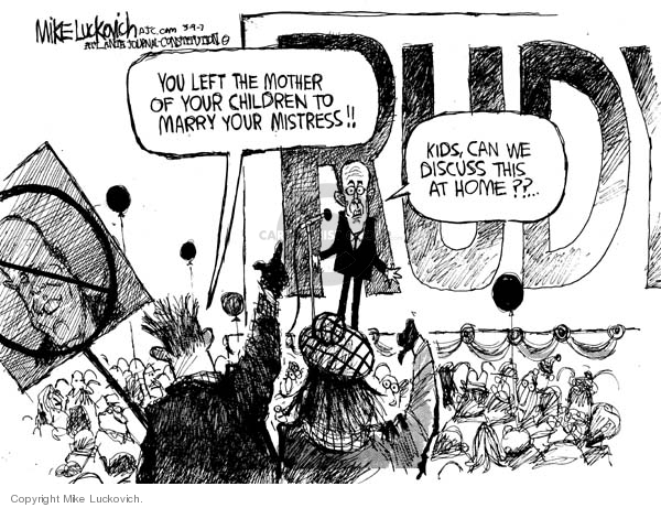 Cartoonist Mike Luckovich  Mike Luckovich's Editorial Cartoons 2007-03-09 Andrew