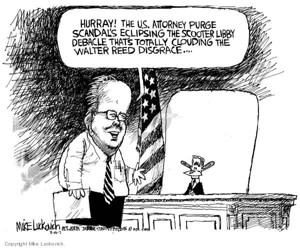 Cartoonist Mike Luckovich  Mike Luckovich's Editorial Cartoons 2007-03-14 veteran
