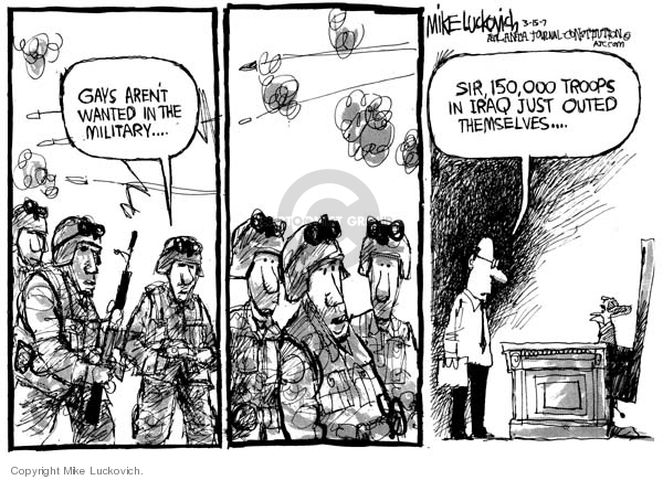 Mike Luckovich  Mike Luckovich's Editorial Cartoons 2007-03-15 soldier