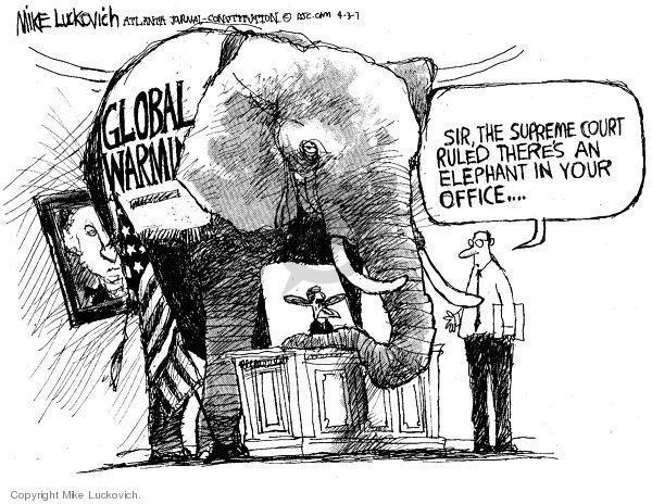 Mike Luckovich  Mike Luckovich's Editorial Cartoons 2007-04-03 sir