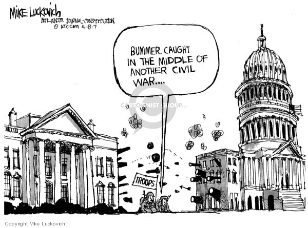 Mike Luckovich  Mike Luckovich's Editorial Cartoons 2007-04-08 power