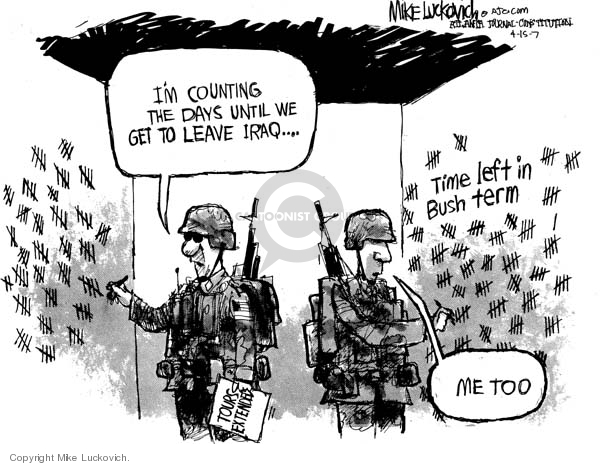Mike Luckovich  Mike Luckovich's Editorial Cartoons 2007-04-15 count