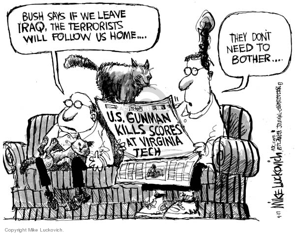 Mike Luckovich  Mike Luckovich's Editorial Cartoons 2007-04-17 tech