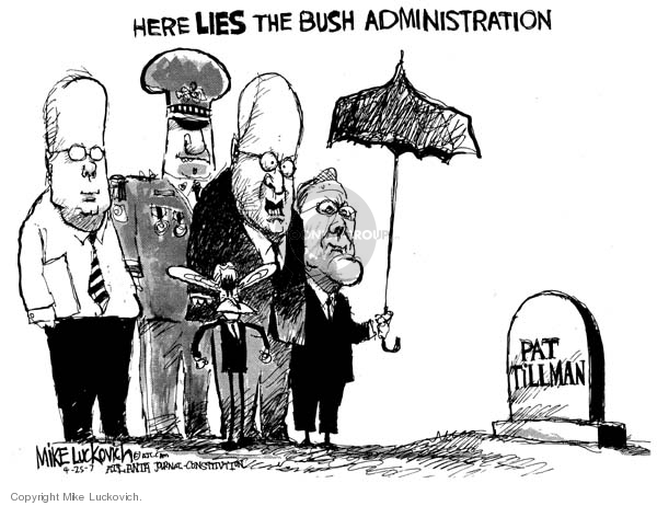 Cartoonist Mike Luckovich  Mike Luckovich's Editorial Cartoons 2007-04-25 responsible