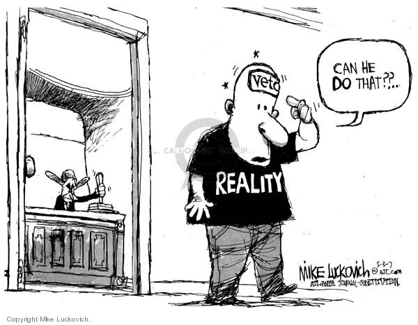 Mike Luckovich  Mike Luckovich's Editorial Cartoons 2007-05-03 balance