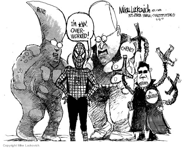 Mike Luckovich  Mike Luckovich's Editorial Cartoons 2007-05-06 good