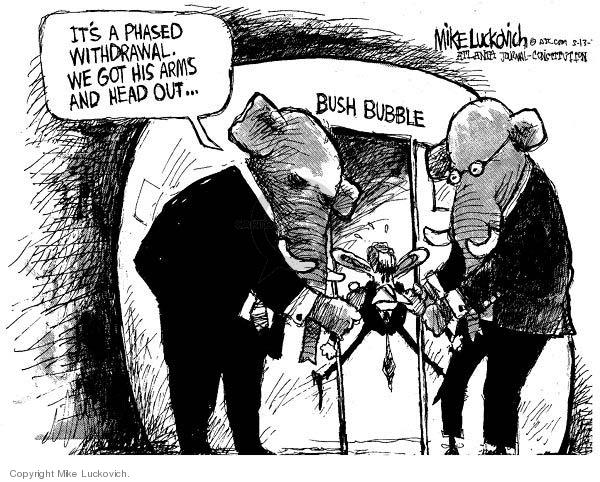 Mike Luckovich  Mike Luckovich's Editorial Cartoons 2007-05-14 republican politician