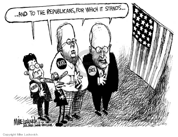 Mike Luckovich  Mike Luckovich's Editorial Cartoons 2007-05-17 loyalty