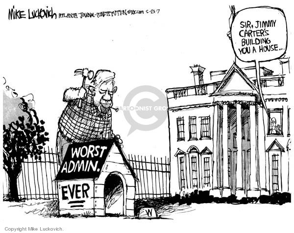 Mike Luckovich  Mike Luckovich's Editorial Cartoons 2007-05-23 sir