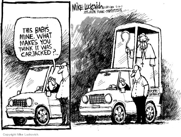 Mike Luckovich  Mike Luckovich's Editorial Cartoons 2007-06-10 evidence