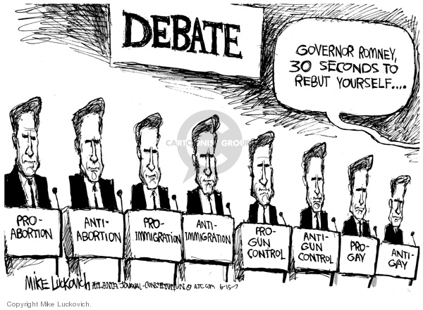 Mike Luckovich  Mike Luckovich's Editorial Cartoons 2007-06-15 republican politician