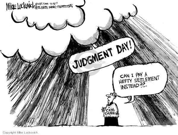 Cartoonist Mike Luckovich  Mike Luckovich's Editorial Cartoons 2007-07-18 payment