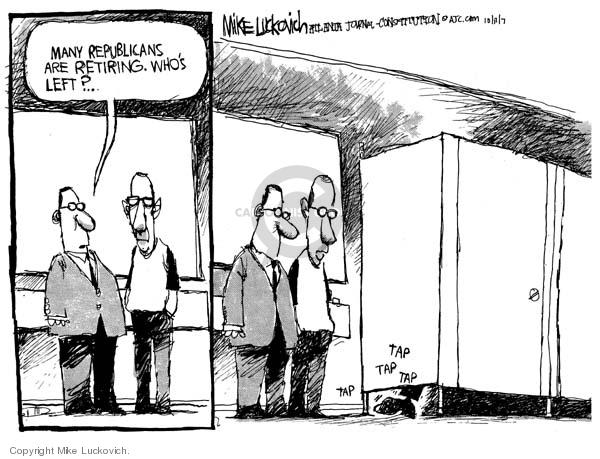 Mike Luckovich  Mike Luckovich's Editorial Cartoons 2007-10-17 republican politician