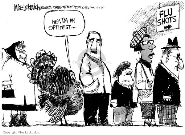 Mike Luckovich  Mike Luckovich's Editorial Cartoons 2007-11-13 vaccine