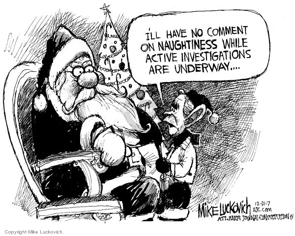 Mike Luckovich  Mike Luckovich's Editorial Cartoons 2007-12-21 nice