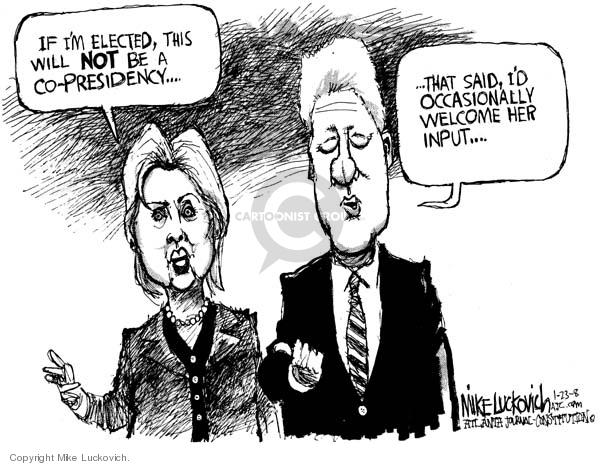 Cartoonist Mike Luckovich  Mike Luckovich's Editorial Cartoons 2008-01-23 Presidency