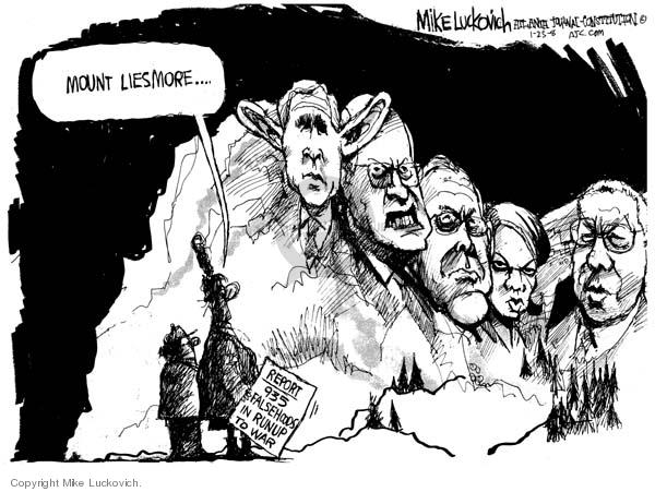 Cartoonist Mike Luckovich  Mike Luckovich's Editorial Cartoons 2008-01-25 false