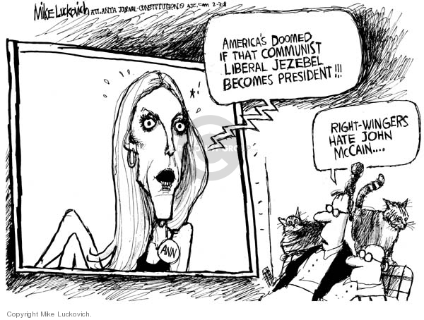 Mike Luckovich  Mike Luckovich's Editorial Cartoons 2008-02-05 opposition