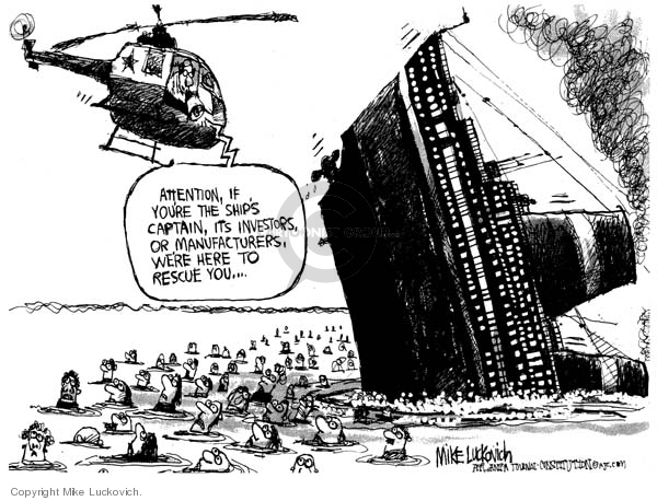 Cartoonist Mike Luckovich  Mike Luckovich's Editorial Cartoons 2008-04-08 special
