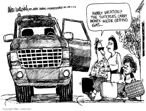 Mike Luckovich  Mike Luckovich's Editorial Cartoons 2008-05-07 family