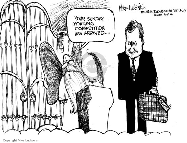 Mike Luckovich  Mike Luckovich's Editorial Cartoons 2008-06-17 afterlife