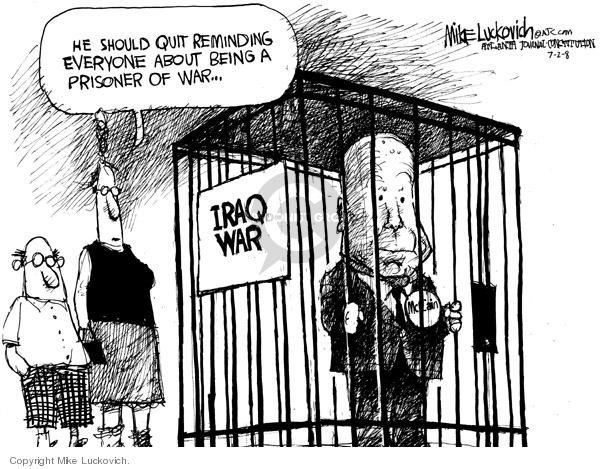 Mike Luckovich  Mike Luckovich's Editorial Cartoons 2008-07-02 2008 election