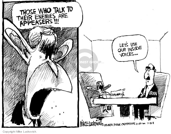Mike Luckovich  Mike Luckovich's Editorial Cartoons 2008-07-18 2008 election