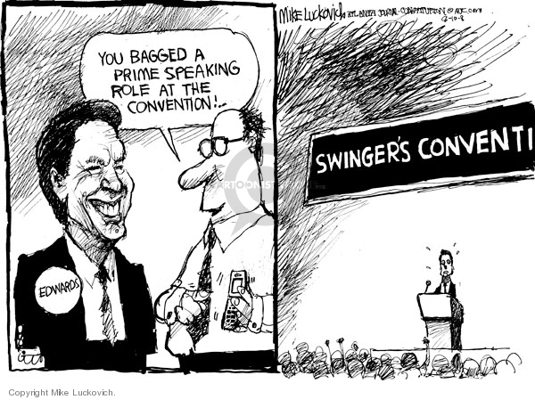 Mike Luckovich  Mike Luckovich's Editorial Cartoons 2008-08-11 role