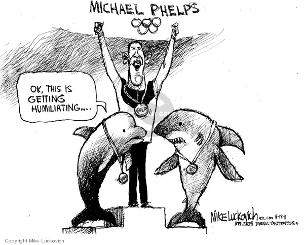Mike Luckovich  Mike Luckovich's Editorial Cartoons 2008-08-13 runner-up