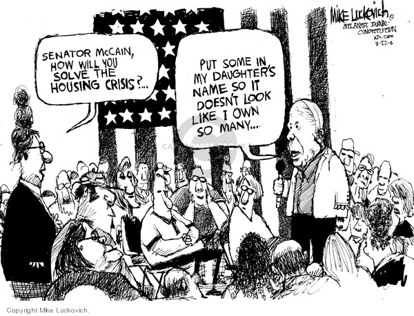 Cartoonist Mike Luckovich  Mike Luckovich's Editorial Cartoons 2008-08-21 name